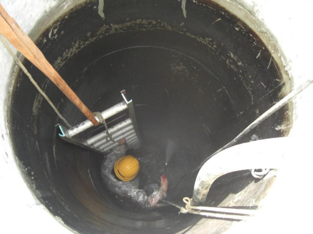 井戸孔内洗浄