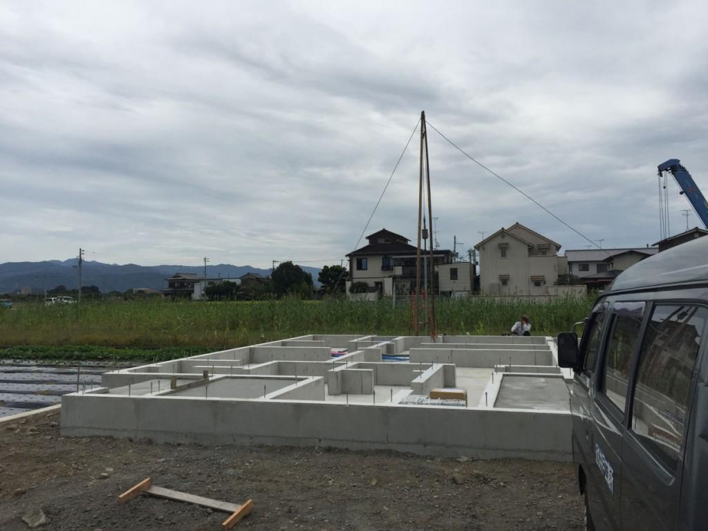 伊予郡松前町 打抜き井戸新設工事