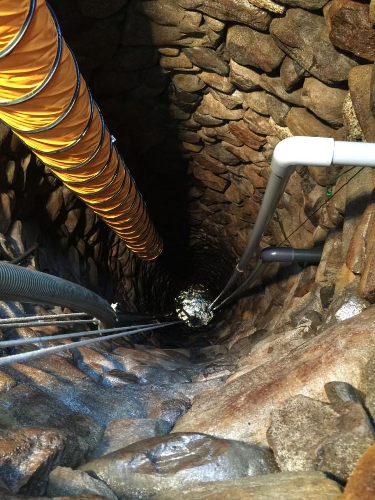 石積み井戸洗浄工事