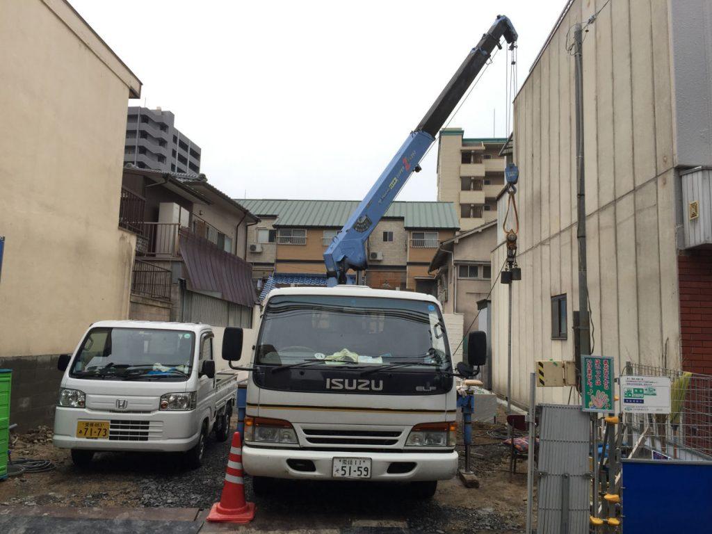 松山市永代町 打抜き井戸工事