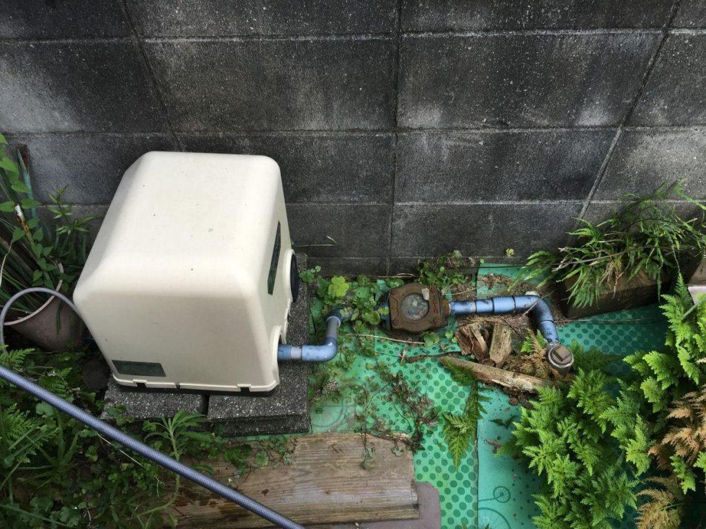 井戸洗浄&ポンプ取替 工事前