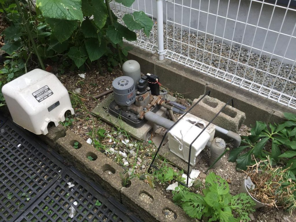 ポンプメンテナンス(松山市東長戸1丁目)