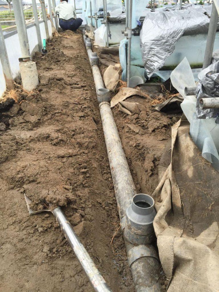 排水口 移設工事