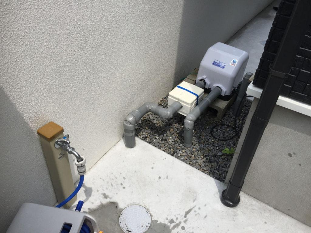 水が濁れているので井戸洗浄が必要か?!(松山市柳井町)