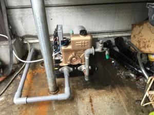 井水ポンプ取替工事