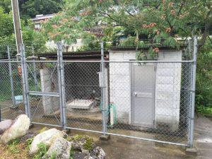 町内井戸の洗浄(松山市河中町)