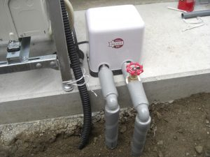 深井戸ポンプ 陸上制御ユニット