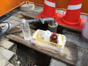 ボーリング井戸 水質検査