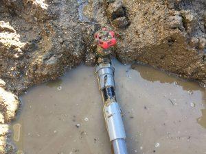 給水配管修繕工事
