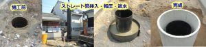 井戸の補強・修繕工事の詳細