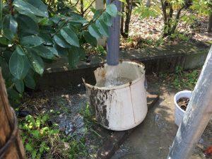 打抜き井戸新設工事