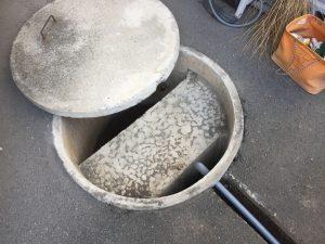 ポンプ吸水側配管の取替(松山市立花)