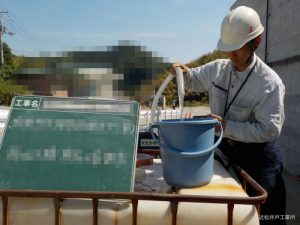 ボーリング井戸 揚水試験・水量調査