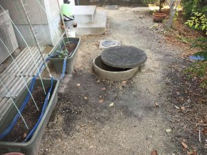 吸水側配管取替と井戸洗浄工事(松山市北梅本町)