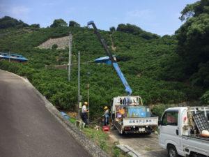 深井戸ポンプの取替(松山市神田町)