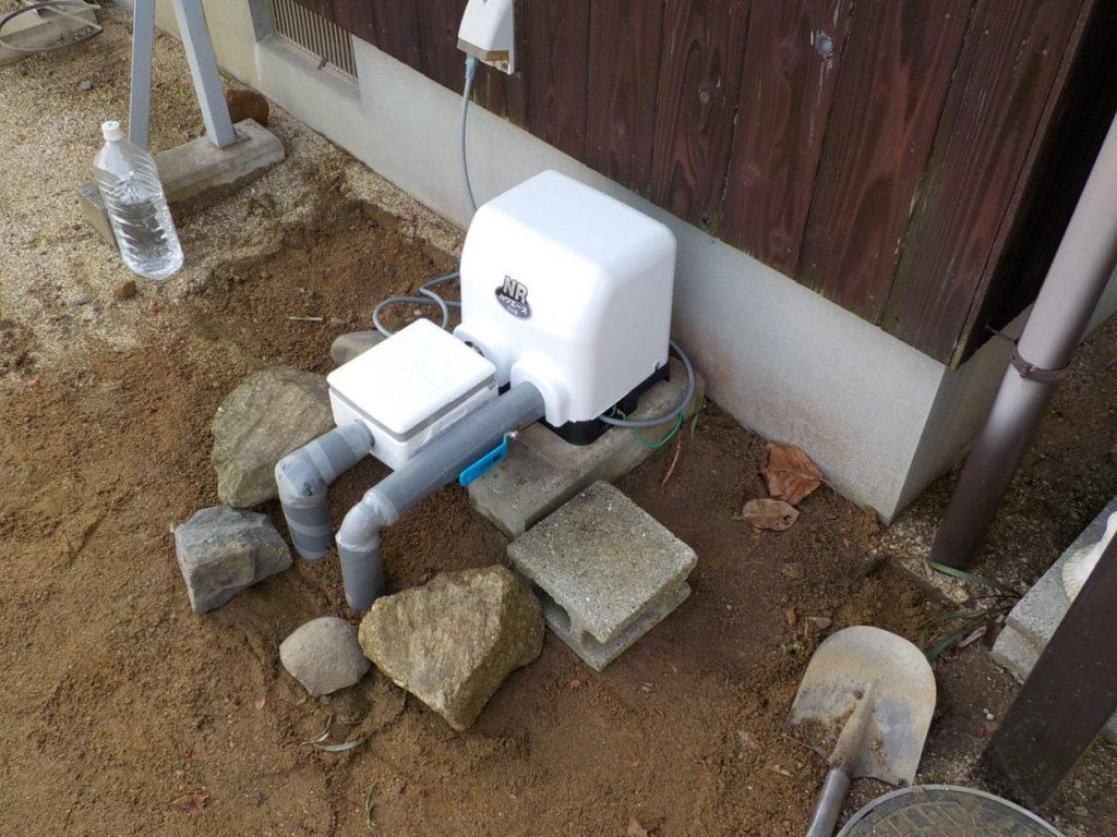 老朽化したポンプの取替(松山市上野町)