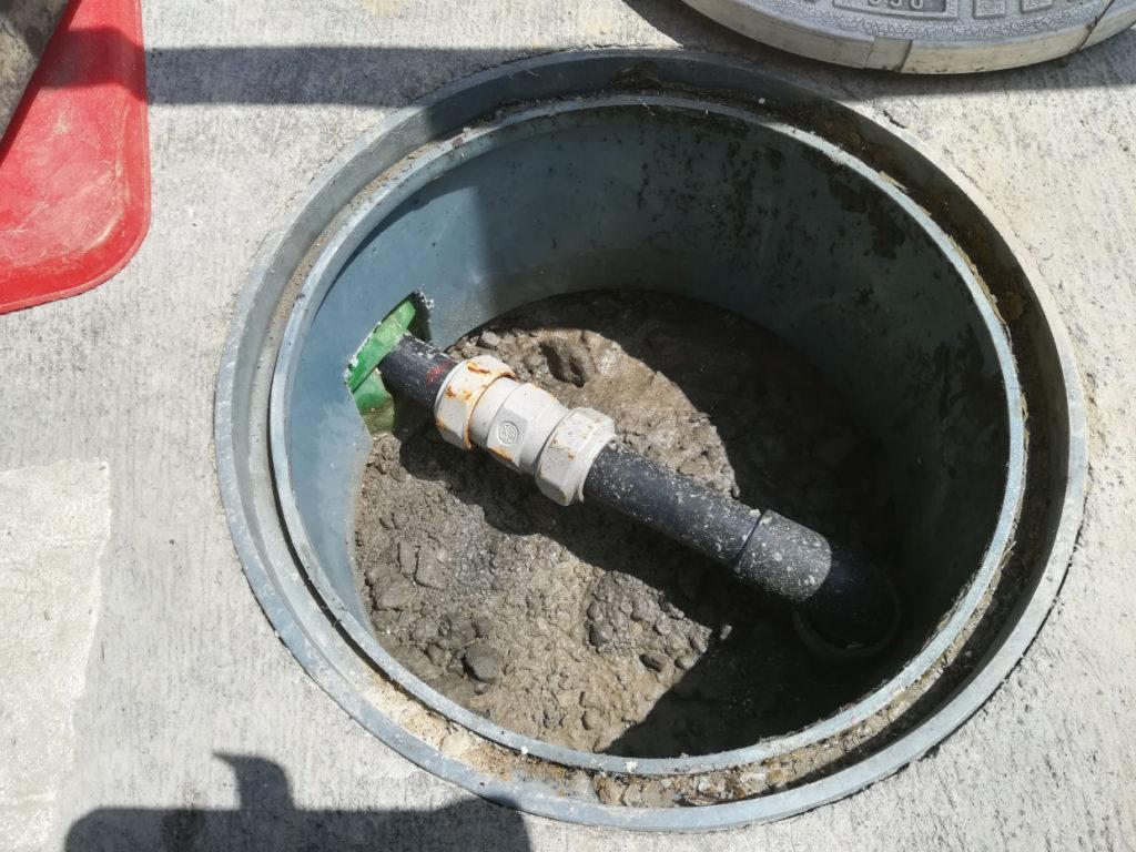 小口径の深井戸