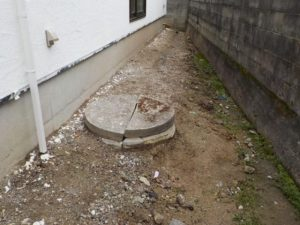 丸井戸の修繕&ポンプ取付で再利用!(松山市和気町)