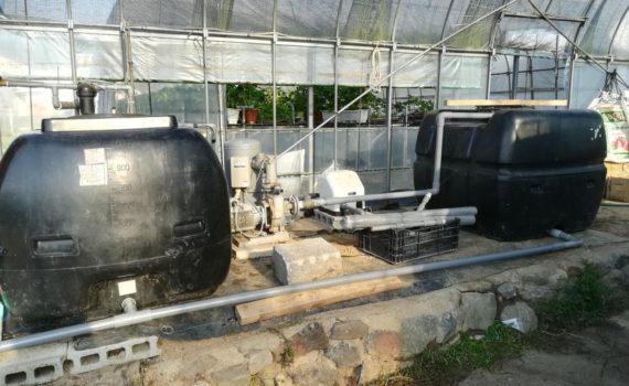 給水システムの変更(松山市八反地)