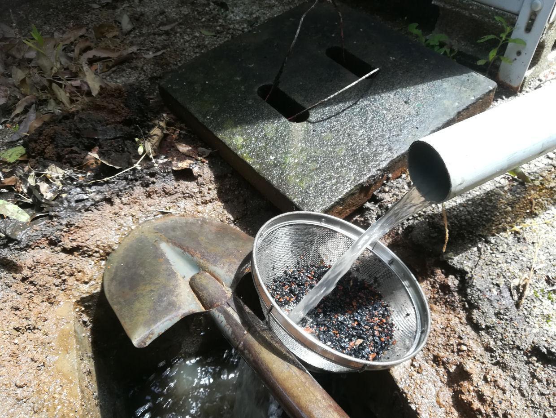打抜き井戸の洗浄工事(伊予郡松前町)