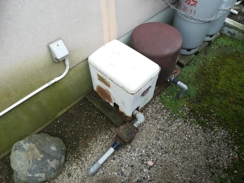 老朽化したポンプの取替(松山市泉町)