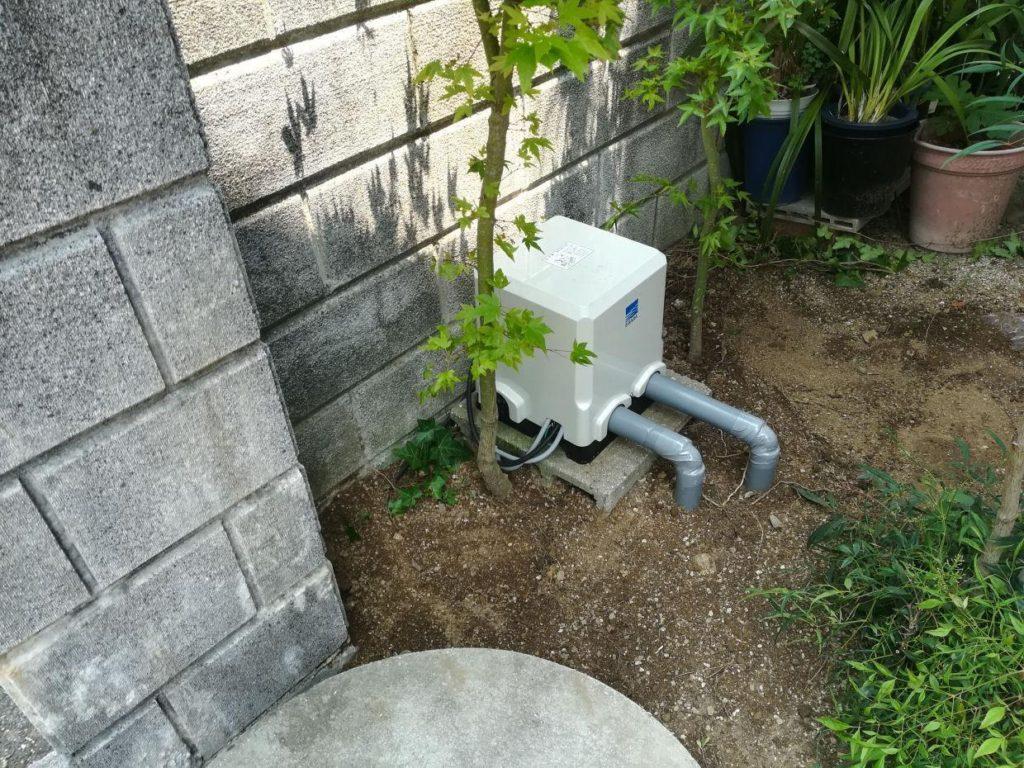 老朽化ポンプの取替(松山市枝松)
