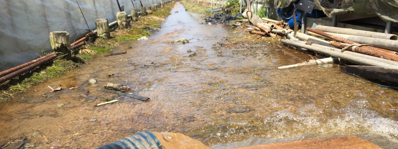 農業にも欠かせない大切な水