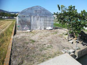 農業用井戸を掘削