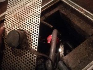 排水ポンプ取替え