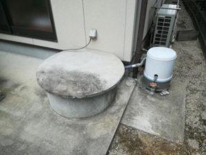 古井戸の補強(松山市和気町)