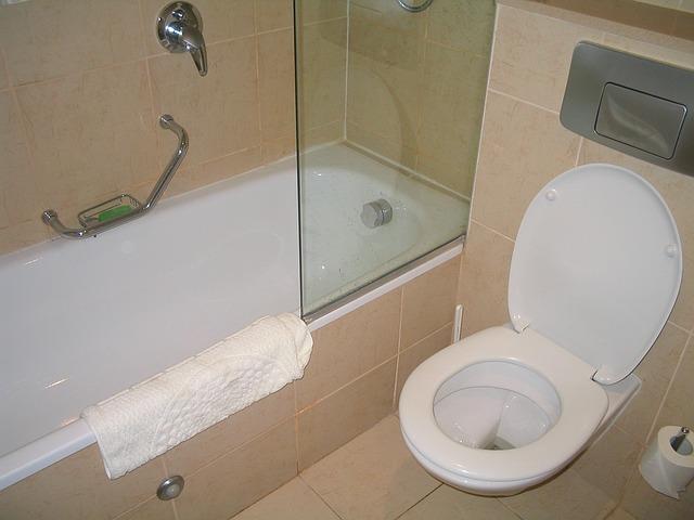 災害時はお風呂とトイレが重要な水の用途です