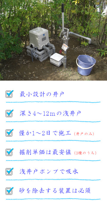 打抜き井戸の紹介
