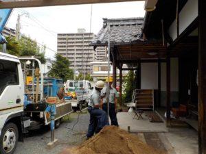 打抜き井戸工事