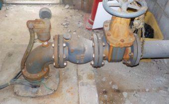 農事用井水設備の改修工事