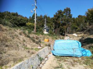 興居島でボーリング井戸掘削