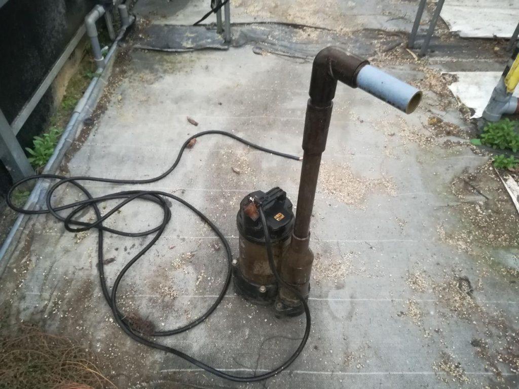 農業用潅水ポンプの取替(松山市八反地)