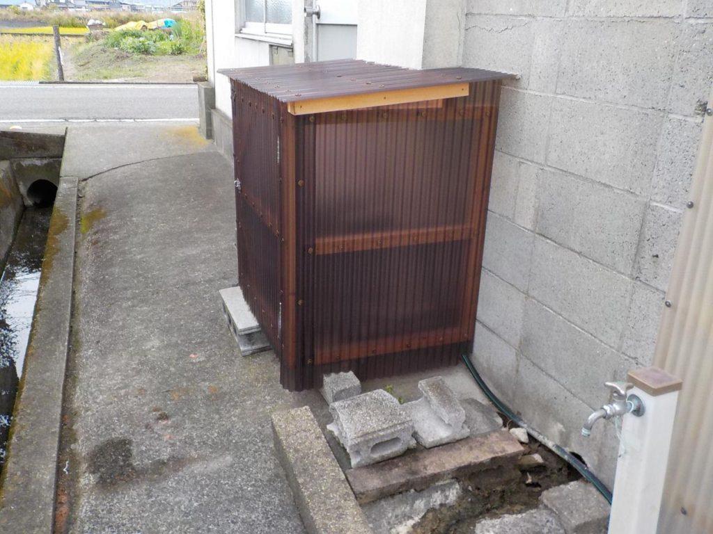 古ポンプの取替(松山市南高井町)