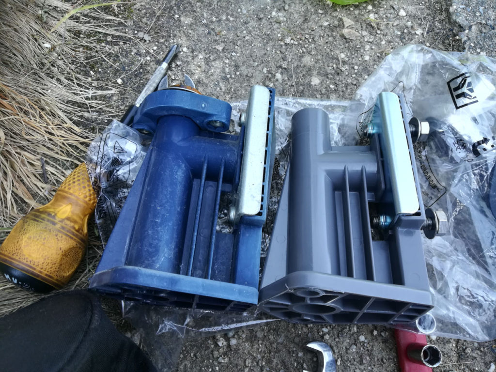日立ポンプ 部品交換修理