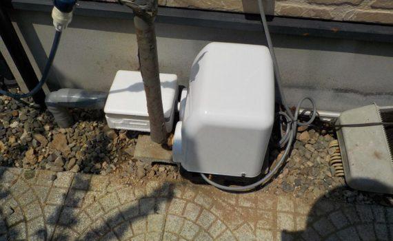 浅井戸ポンプの取替え