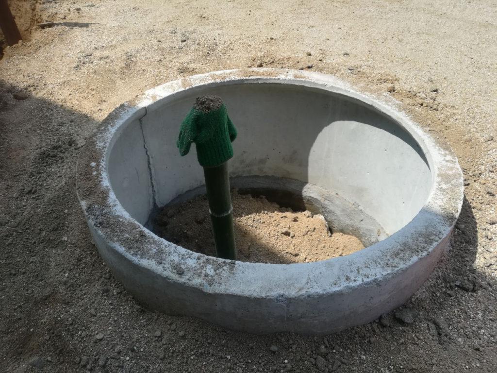 井戸の埋め戻し