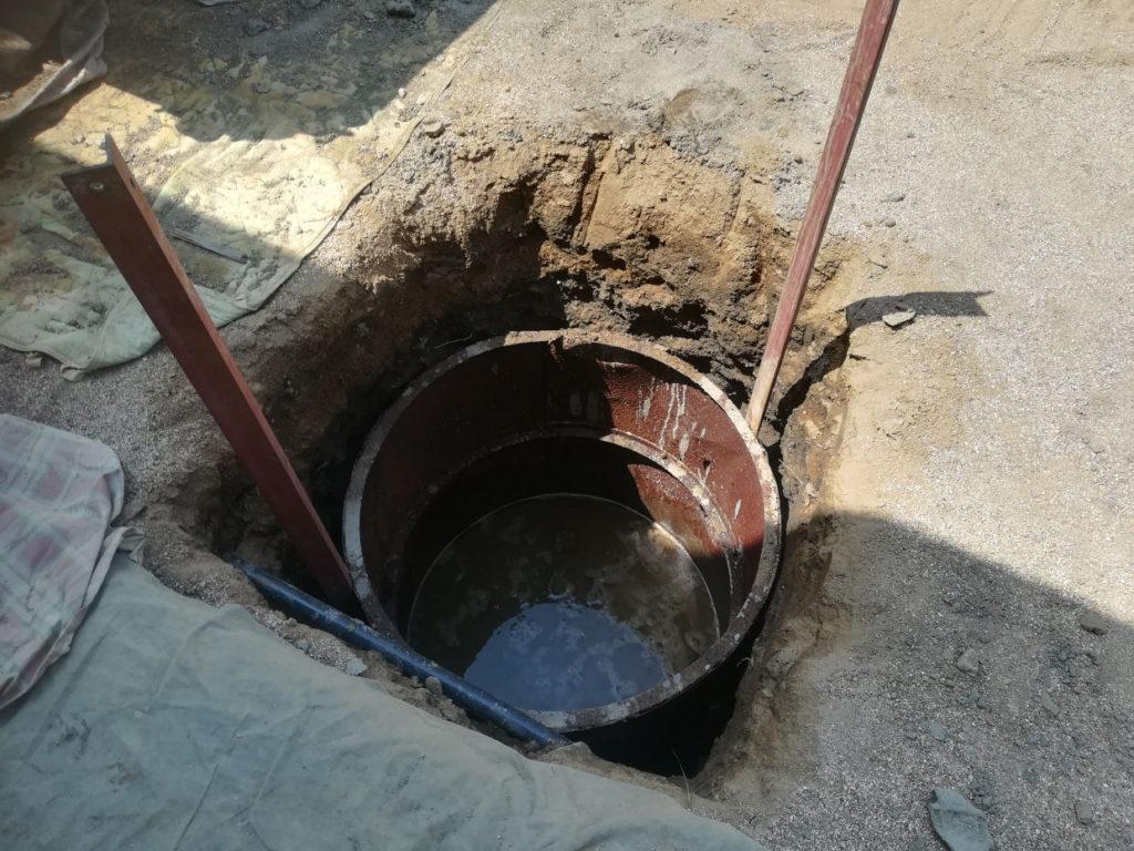 掘井戸掘削工事