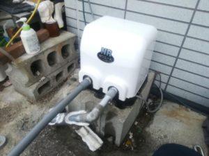 井戸ポンプ取替 川本 NR-156