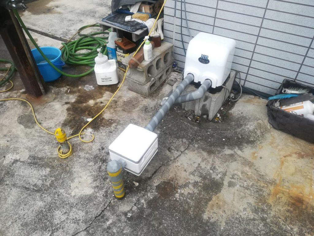 井戸ポンプ取替 川本 NR-156S