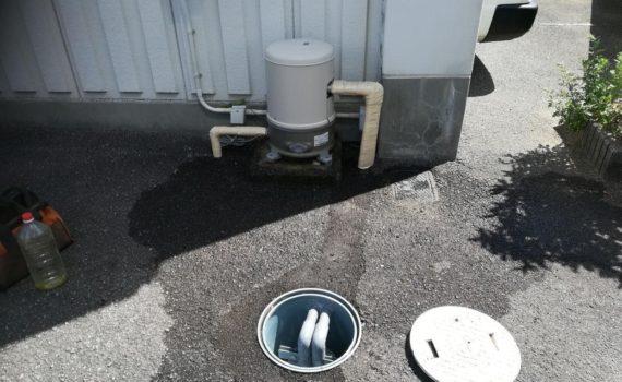深井戸ジェットポンプ メンテナンス