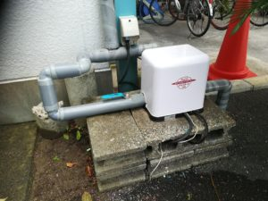 深井戸水中ポンプの取替(松山市緑町)