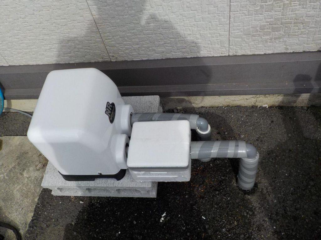 ポンプ取替 川本 NR-156S