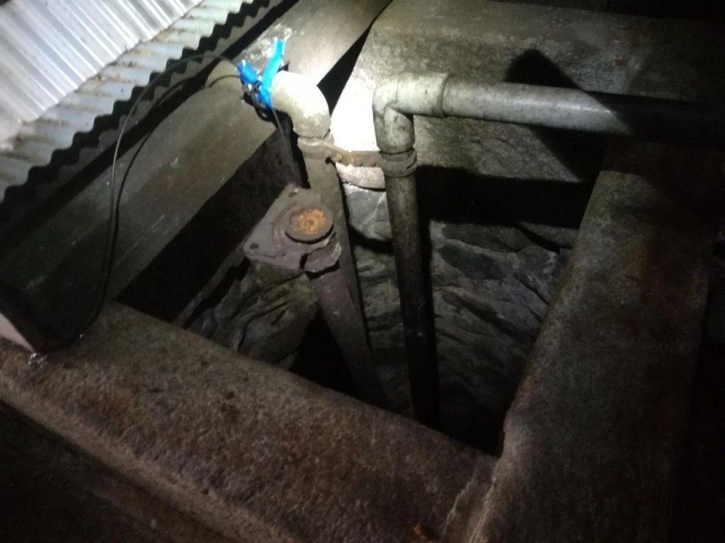 古井戸の視察