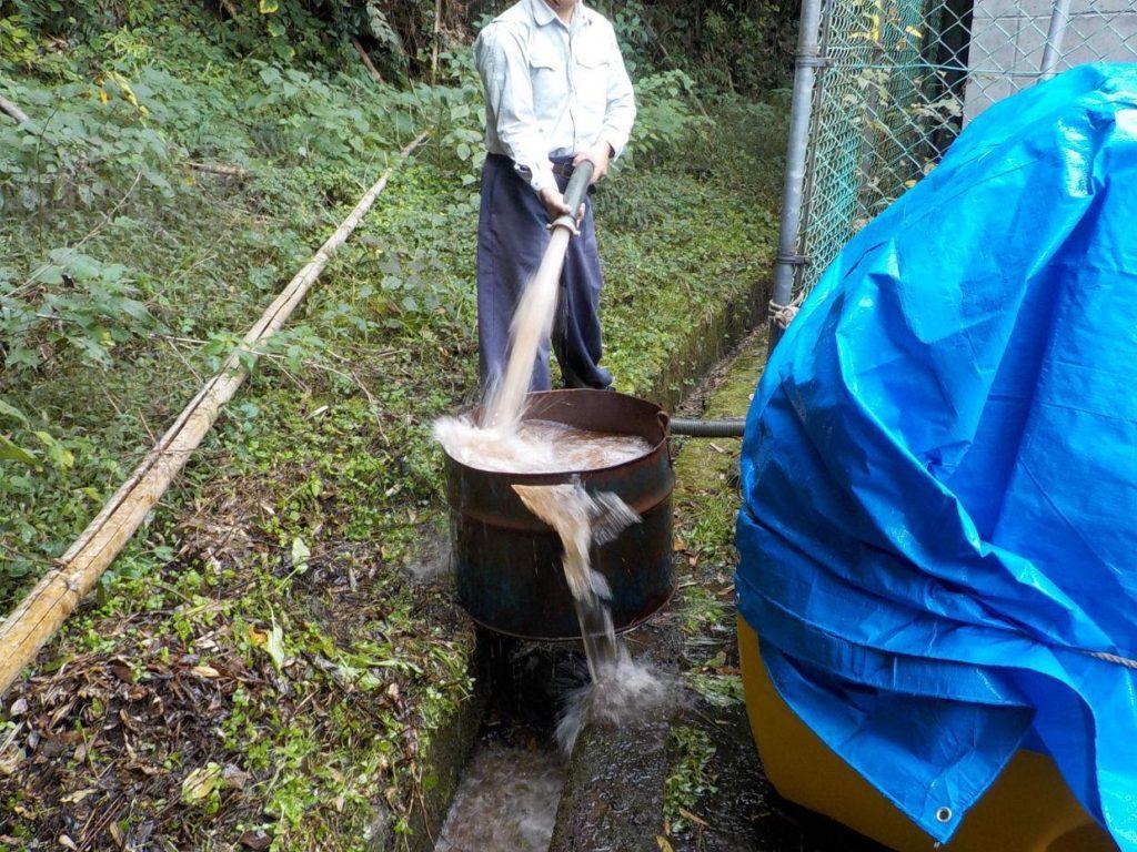 深井戸 洗浄 掃除 エアーリフト