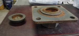 手押しポンプ修理