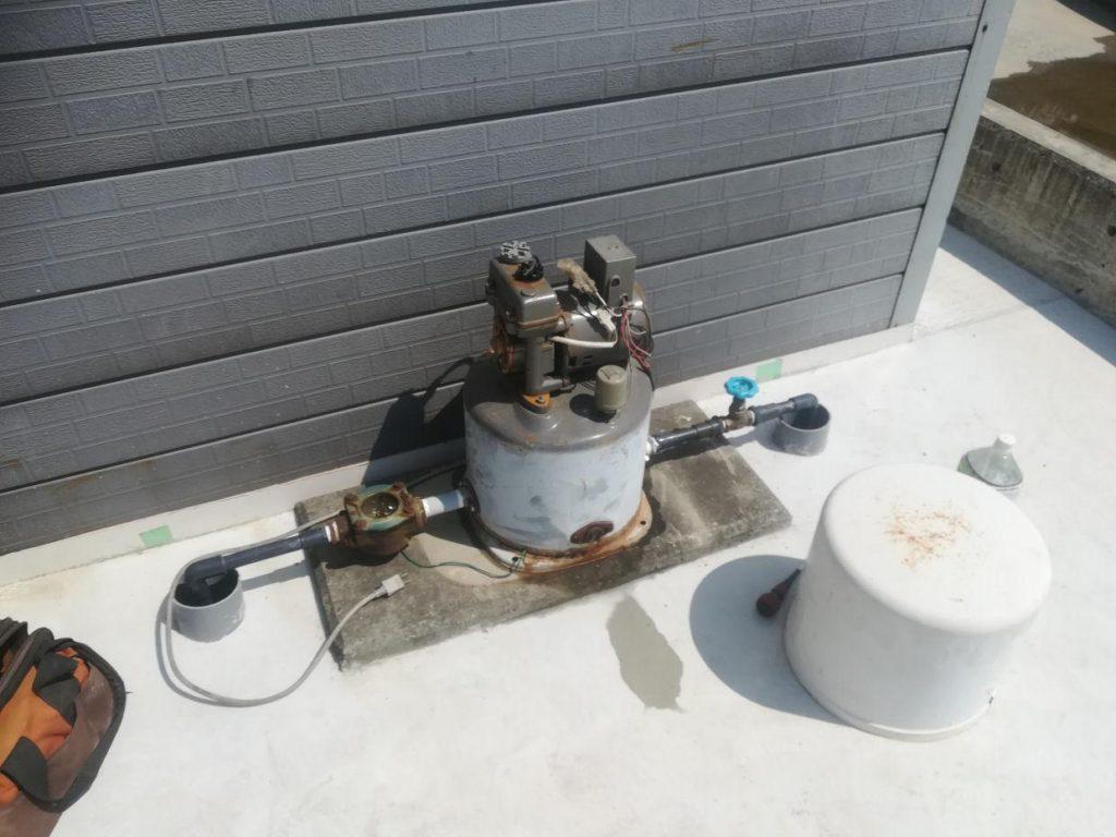 打抜き井戸と浅井戸ポンプ